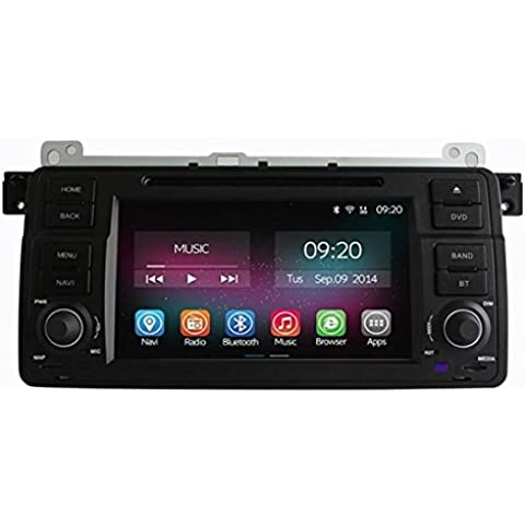 Poseidon navigazione 1024x600 canbus wifi nucleo Android quad per GPS ownice c200 ol-7956 lettore dvd BMW Serie 3 E46 M3 1998-2005