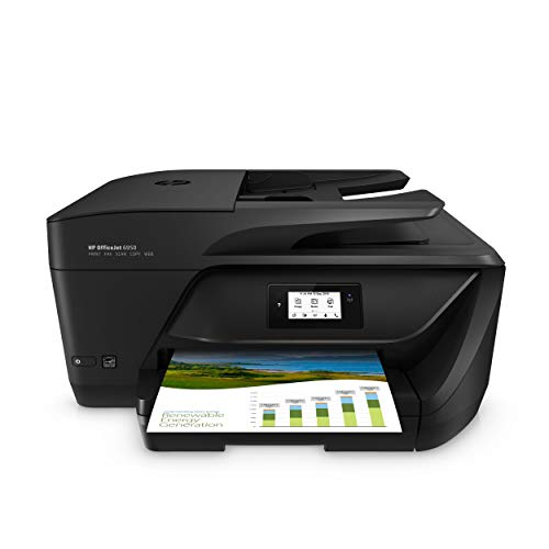 HP Officejet 6950 Multifunktionsdrucker (Drucker, Scanner, Kopierer, Faxen, HP Instant Ink, Duplex, WLAN, HP ePrint, Apple Airprint, USB, 600 x 1.200 dpi) schwarz (Drucker All In One Wireless Hp)