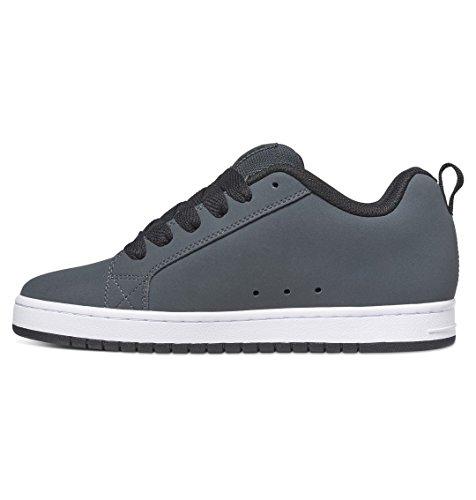 Dc Shoes Court Graffik SE - Low Tops für Männer, Farbe: GREY/WHITE, Size: 38.5 EU (6.5 US / 5.5 UK) - Dc Court Graffik Se Schuh