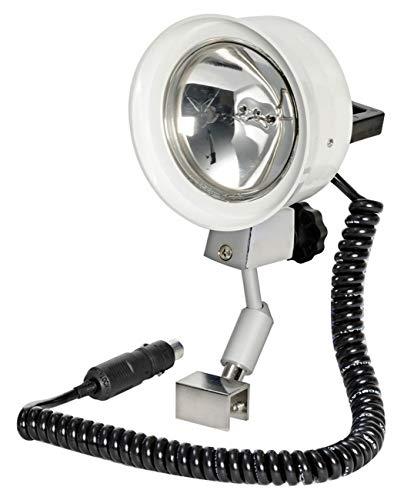 Osculati S.p.A. Scheinwerfer Utility 12 Volt 100 W mit Frontscheiben-Halterung sowie Handscheinwerfer