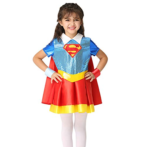 Zombie Michael Kostüm Rob Myers - WWJIE Halloween Cosplay Kostüm, Girl Performance Kostüm, Rollenspiel Umhang Kleiderset-M