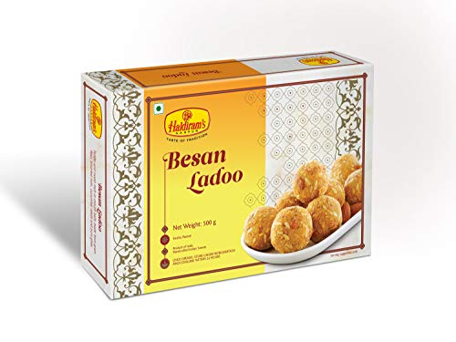 Haldiram's Nagpur Besan Laddu – 400 Grams (Pack Of 1)