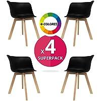 masteritem chaise nordique pack 4 fauteuil scandinave fauteuil nordic scandi inspirada en - Chaise Fauteuil Scandinave