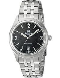 Richelieu Men s Swiss Quartz Stainless Steel Dress Watch,  Color Silver-Toned (Model 0144ced915dd