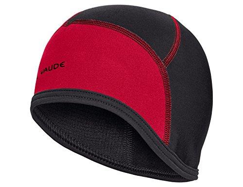 VAUDE Unisex Bike Cap Kappe, rot(Indian Red), S