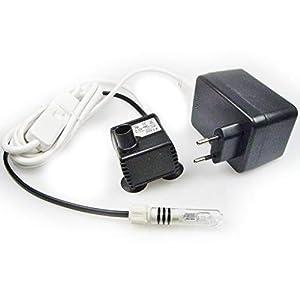Eden Pumpe 106L mit Licht und 3-Wege-Schalter – 0,5 m Förderhöhe …