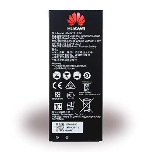 Original HUAWEI Batterie Li-Ion avec 2200 mAh pour Huawei Y6 - hb4342 a1rbc