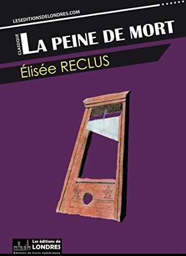 Couverture du livre La peine de mort