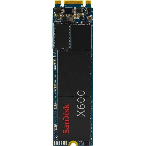SANDISK X600 SSD M.2 2280 256GB intern SATA 6Gb/s TLC