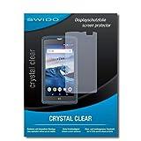 SWIDO Schutzfolie für Crosscall Core-X3 [2 Stück] Kristall-Klar, Hoher Härtegrad, Schutz vor Öl, Staub & Kratzer/Glasfolie, Bildschirmschutz, Bildschirmschutzfolie, Panzerglas-Folie
