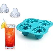Eiswürfelform Eiswürfelschale Ice Cannibal Style Lustige Totenkopf Eiswürfel