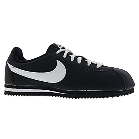 Nike Jungen Black / White Turnschuhe, Blanco (Black / White), 39 EU