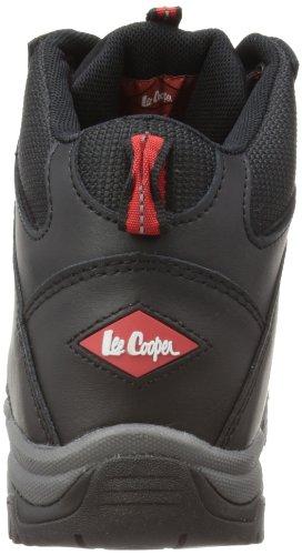 Lee Cooper Workwear S3 Water Resistant Leather Boot, Chaussures de sécurité Adulte Mixte Noir (Black)
