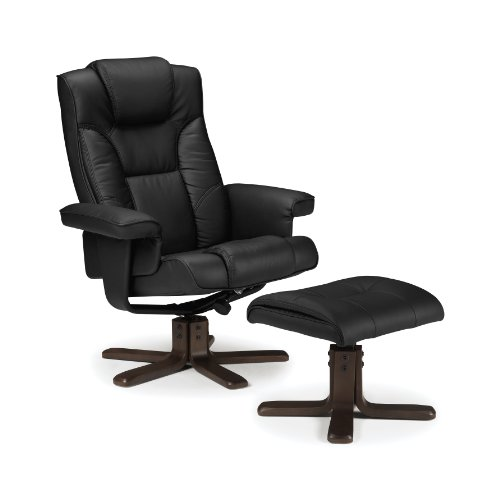 julian-bowen-malmo-recliner-and-footstool-black