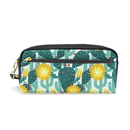 Tropische Beeren (Emoya Stifteetui Tropische Kaktusblüte Äste Beeren Stifthalter Schreibwaren Tasche Kosmetiktasche)
