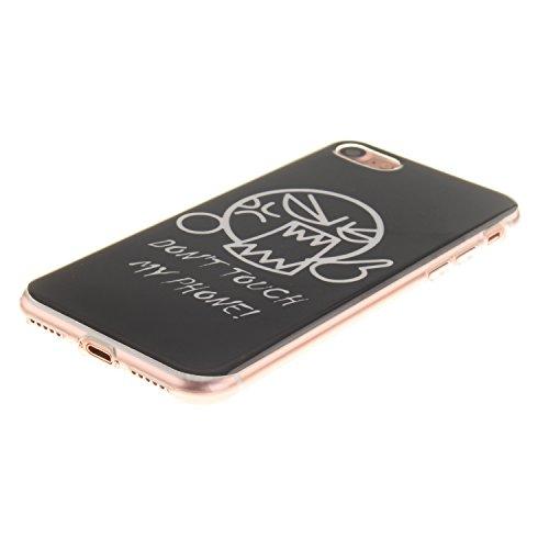 iphone 7 Plus Case Cover,YuDan Telaio in TPU flessibile ultrasottili paraurti in gomma guscio protettivo morbido gel per Apple iphone 7 Plus - DX8 DX12