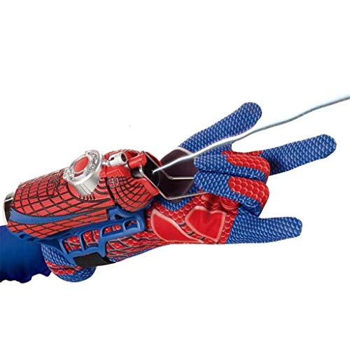 Handschuh Mega Blaster Web-Shooter mit Handschuhset ()
