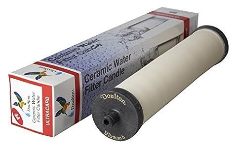 Doulton M15Ultracarb Bougie potable Cartouche filtre à eau en céramique pour Franke FilterFlow en acier inoxydable ¦ Franke 03¦ frf03¦ 25,4cm ¦ M15Push Fit ¦ w9223035