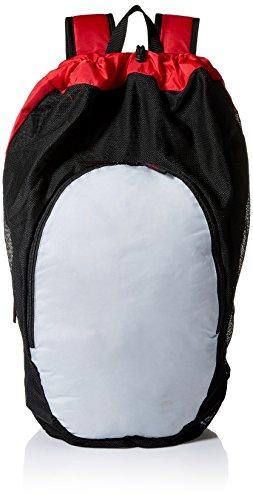 ASICS Unisex-Erwachsene Gear Bag 2.0 Tasche, Red/Athletic Grey, Einheitsgröße