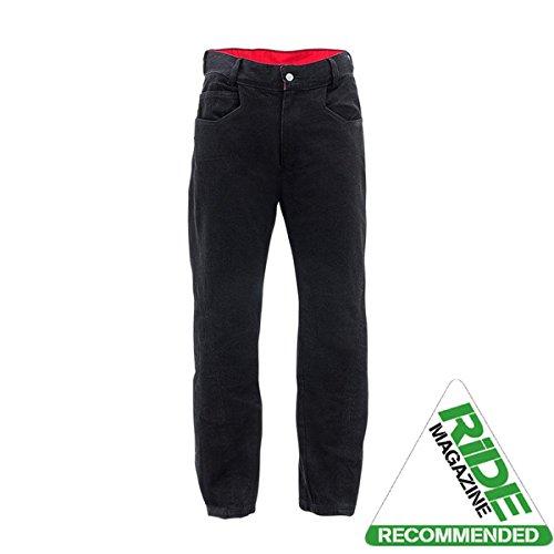 "Bull-It-Gilet Sidewinder \'ss SR6 Pantaloni moto Jeans lunga 36 x 32 \"", colore: nero"