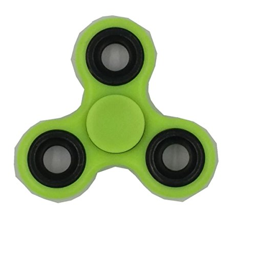 Preisvergleich Produktbild Kadcope Tri-Spinner Fidget Focus Spielzeug-Hybrid Keramiklager, 1-3 Min. Spins High Speed- Non-3D bedruckte Handspinner Perfekt für Angst, EDC, ADD, ADHS, Kinder & Erwachsene