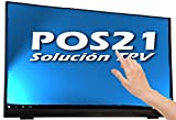 "TPV completo para Hostelería con táctil de 21,5"" negro, disco SD 32 GB, Windows 10 original, impresora térmica de 80x80, cajón de dinero de 41 cm y software POS21 TPV con 2 meses de soporte online gratuito. Totalmente configurado y listo para empezar a usar desde el primer día."