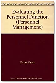 Evaluating the Personnel Function (Personnel Management)