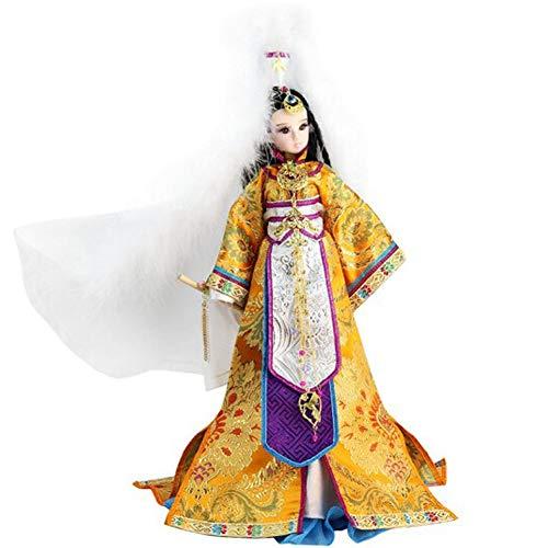 Seidenpuppen, orientalisches Dekor, chinesische Puppe mit antikem Kostüm, 12,5 Zoll Mädchenpuppe für die - Chinesisch Inspirierte Kostüm