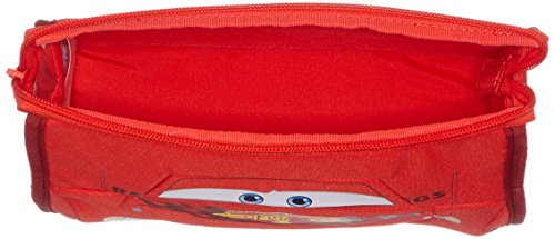 41kNGEmwH3L - Disney Ultimate Pre-school Cars Bolsa de Aseo, 2.5 Litros, Color Rojo