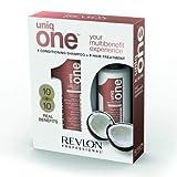 Revlon Uniq ONE All in One Treatment 150ml & Conditioning Shampoo 300ml - Coconut Duo Gift Set