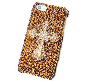 Blingthing Cross Embelished Mobile Cases for Samsung Galaxy Note 3