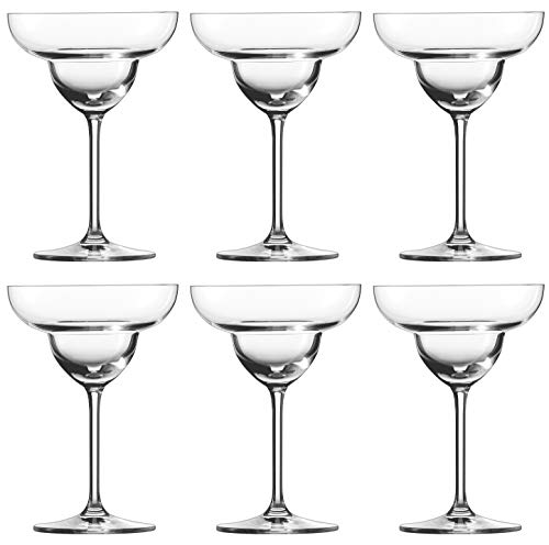 Schott Zwiesel BAR Special 6-teiliges Set Margaritaglas, Tritan Kristalglas, Transparente, 11.4 cm, 6 Margarita Gläser