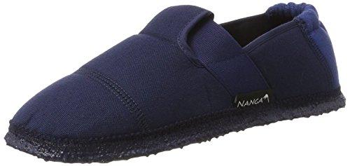 Nanga Unisex-Kinder Klette Hausschuhe Blau (Blau)