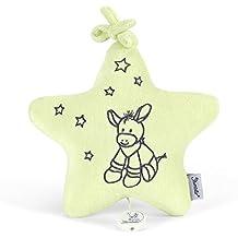 La estrella STERNTALER M felpa musical Emmi rellena juguete de peluche, amarillo