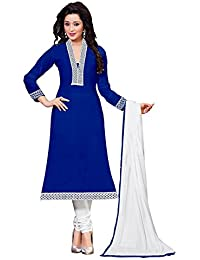 Today Best Offer New Collection Dress Material Party Wear Dress Material For Women New Designer Blue_Colored Banglory...