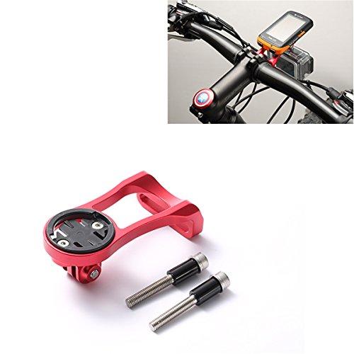 Chooee Lenker-Halterung für Fahrräder, geeignet für Garmin-Navis 200, 500, 510, 800, 810, 1000 und GoPro, rot