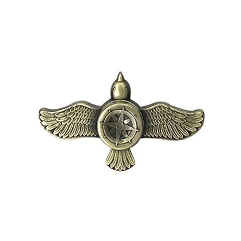 Woya Hand Spinner New Styles Fidget Spinner Flying Bird Sports Spinner ADD EDC ADHD Austim Toy for Kids&Adults Best Stress Reducer Time Killer Aluminium Alloy 2Mins