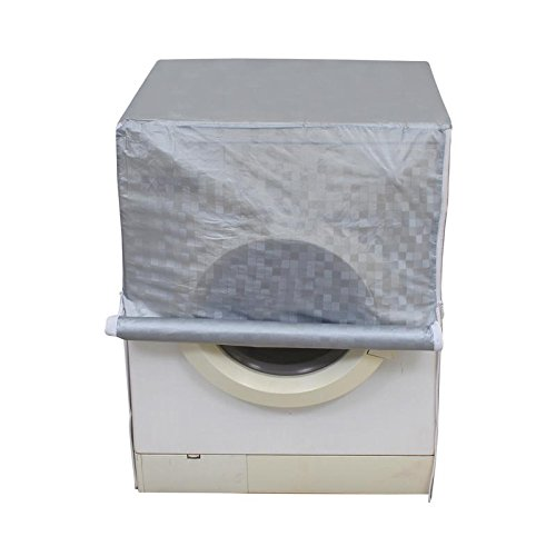 Dream Care Grey Colour with Square Design Washing Machine Cover for Fully Automatic Front Loading IFB Senorita Aqua SX 6.5 KG  available at amazon for Rs.399