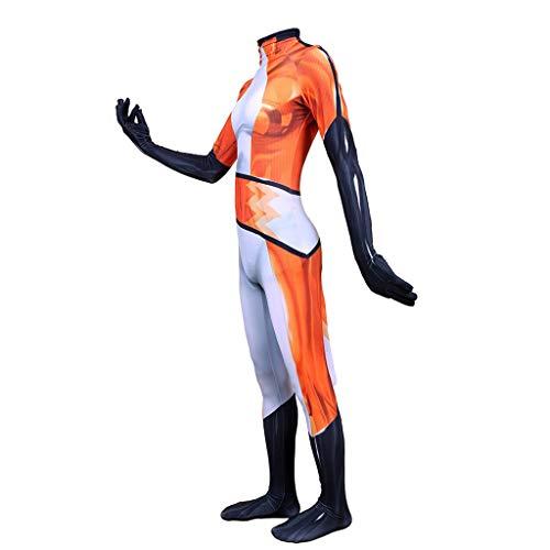 YEGEYA Halloween Familien Party Cosplay Kostüme Little Fox Family Pack ohne Kopfbedeckung (Orange) (Color : Woman, Size : - Family Fun Pack Kostüm