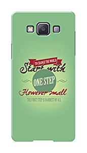 HACHI Premium Printed Cool Case Mobile Cover for Samsung Galaxy A5