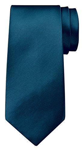 BomGuard Krawatte einfarbig 8 cm breit in Petrol