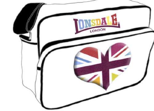 Lonsdale London Union Jack bolsa del corazón del envío