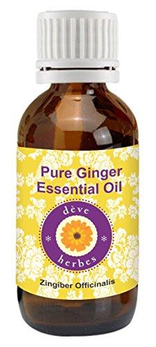 Dève Kit puro aceite esencial jengibre Zingiber officinale
