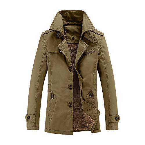 Mymyguoe Herren Sweatshirt Herrenjacke Vintage Klassisch Übergangsjacke Outwear Winterparka...