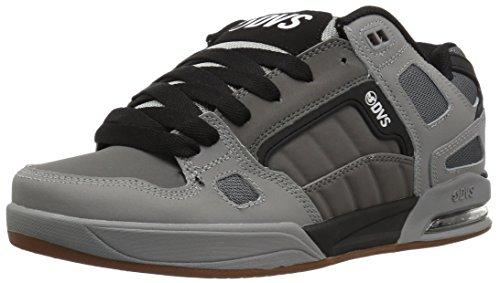 DVS Shoes Drone+, Scarpe da Skateboard Uomo Charcoal/Grey/Leather