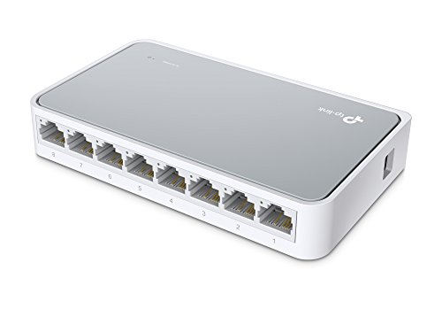TP-Link TL-SF1008D - Switch Formato Sobremesa Mini