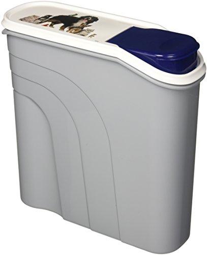 Rotho Aufbewahrungsbox für Tierfutter aus Kunststoff (PP) - Trockenfutterbehälter für Hunde, Katzen, Vögel, Fische und andere Kleintiere