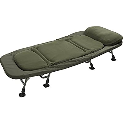 TF GEAR Flat Out Super King Size Wide Bed Chair Ex Demo Carp Fishing Bedchair by TF Gear