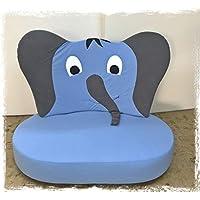 fitalia Kindersofa Elefant, gepolstert, Made in Germany! preisvergleich bei kinderzimmerdekopreise.eu
