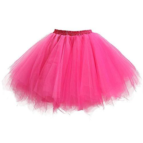 Mädchen Kinder Ballett Röcke Tutu Rock Ballettrock Tütü für Party Mädchen Kostüm Ballettrock Tanzkleid Clubwear Classic 2-8 Jahre Tanzbekleidung ()